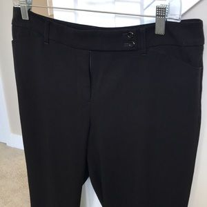 White House Black Market Pants - WHBM black cuffed pants *Repair required